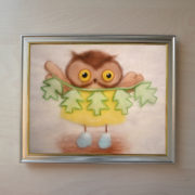 Owl Wall Painting