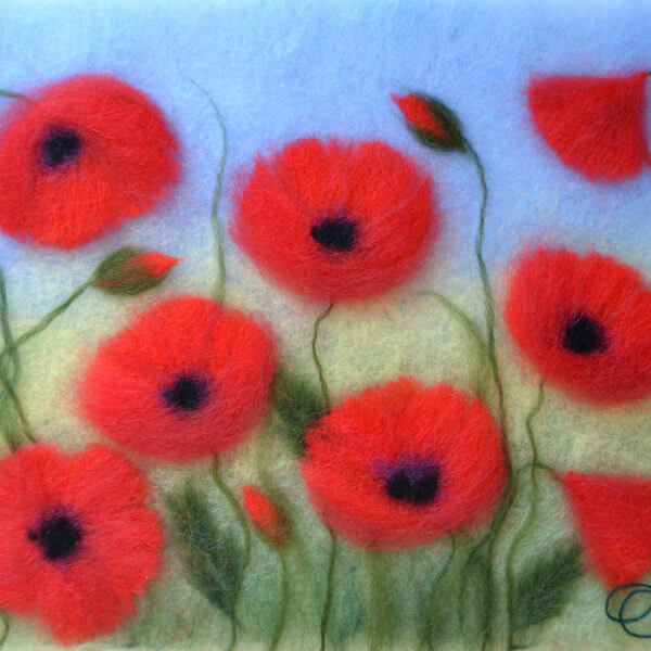 Oksana_Ball_Poppies_in_the_field