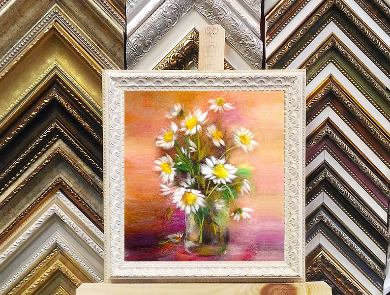 Framing options for your wool paintings