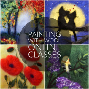 Painting With Wool Online Classes